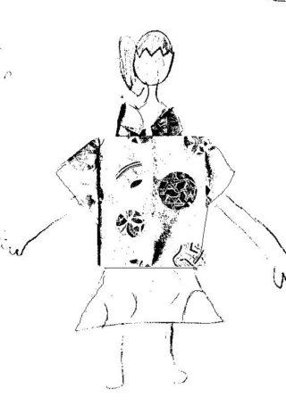 参加したお子さんの描いた絵