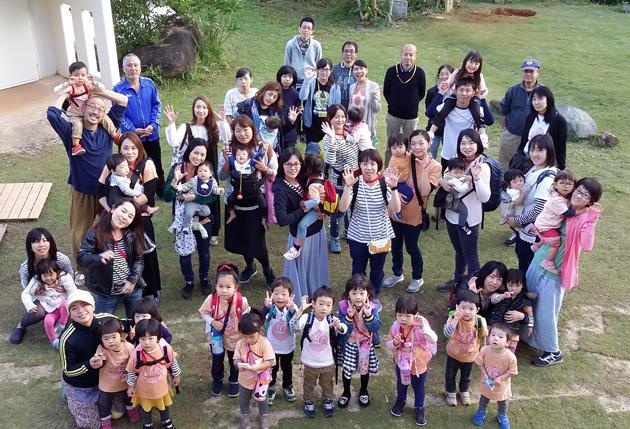 66次保養の母子たち(2016年11月)