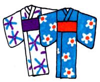 日本の浴衣